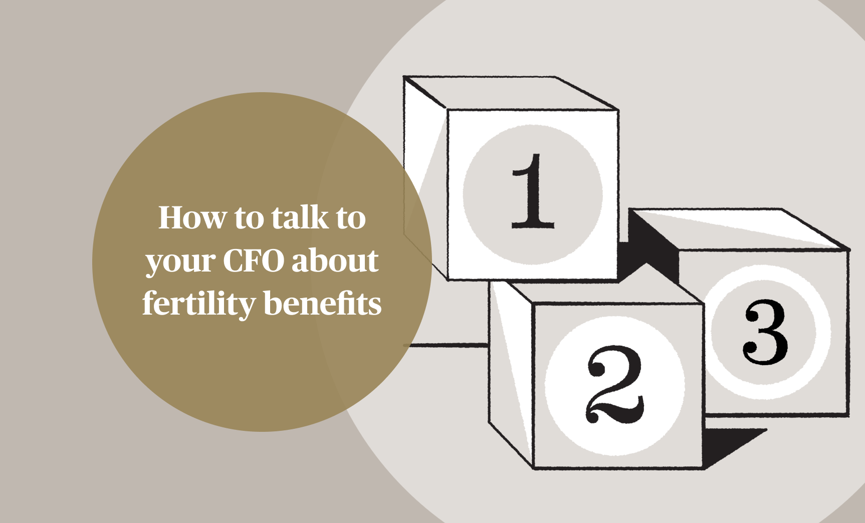 How to talk to your CFO about fertility benefits