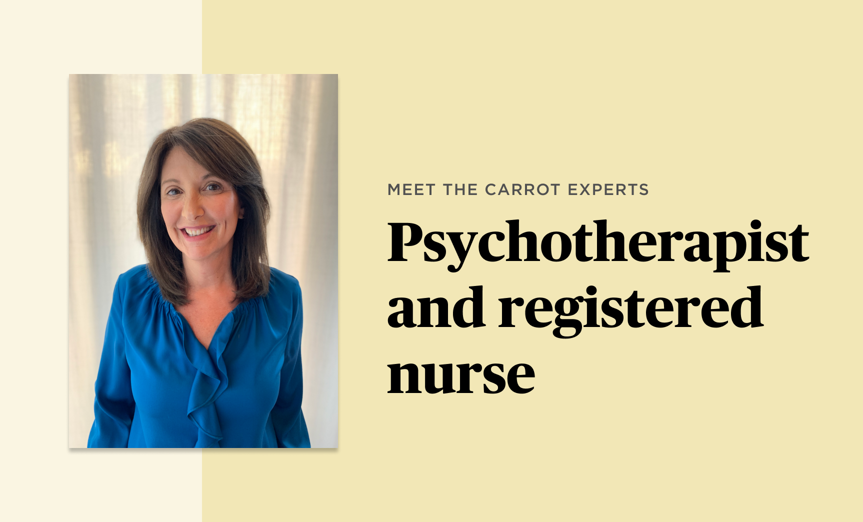 Meet the Carrot Experts: Robyn Shapiro, MFT, RN