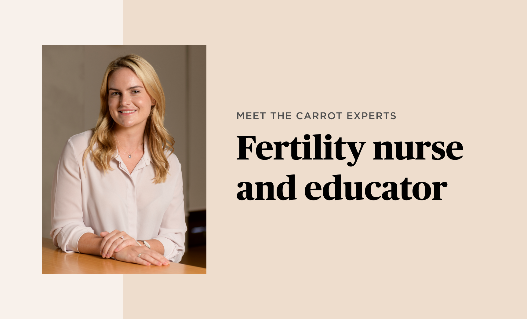 Meet the Carrot Experts: Sarah Lyndon