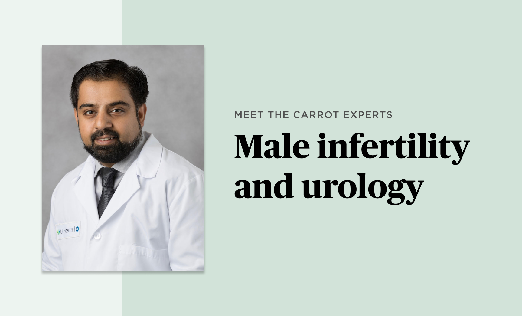 Meet the Carrot Experts: Muhammad Asim Khan, MD