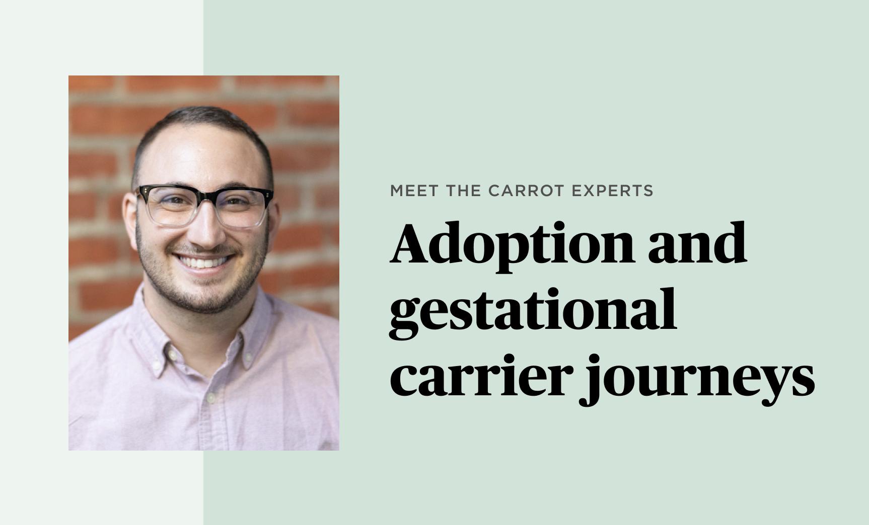 Evan Friedenberg, Carrot expert