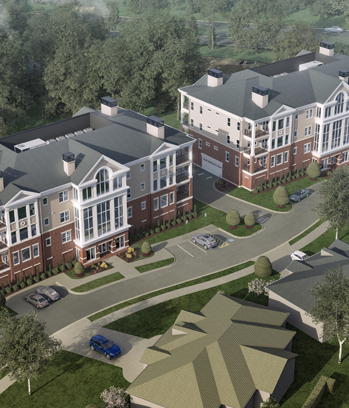 Falcons Landing Life Plan Community Independent Living Terrace Homes