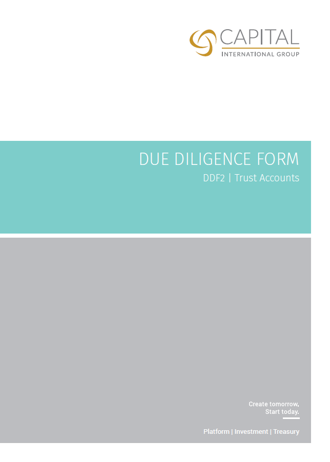 Due Diligence Form- DDF2 | Trust Accounts