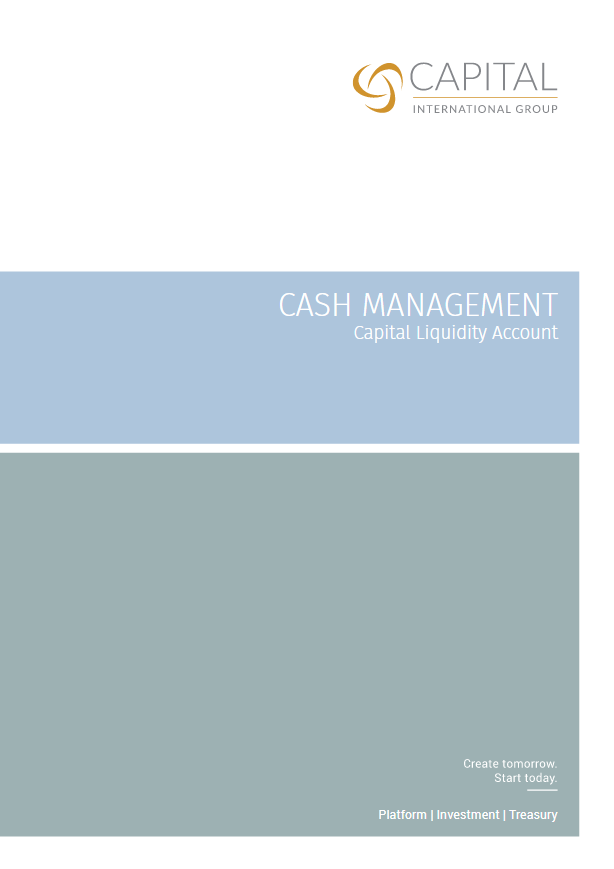 Cash Management Brochure