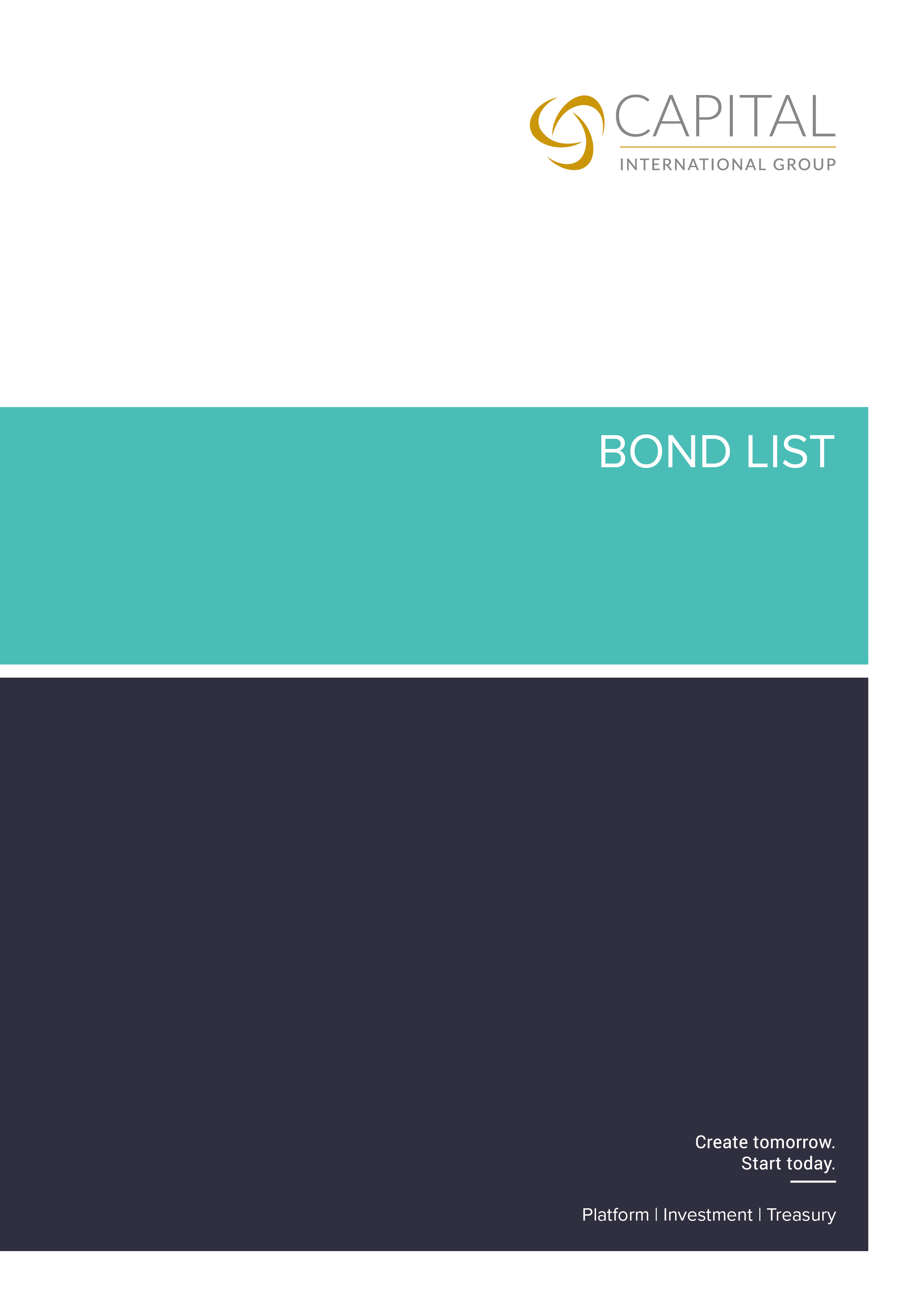 Bond List July 2020