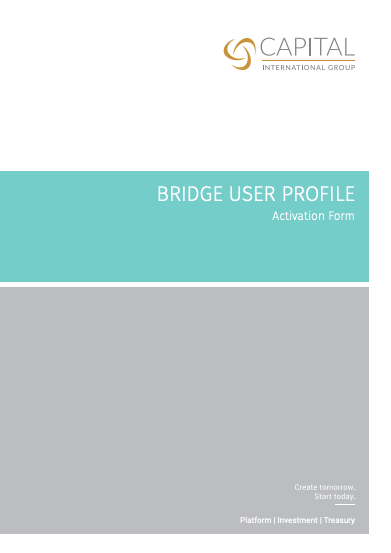 CTS Bridge User Profile Activation Form