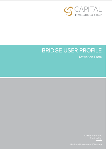 CTS Bridge Application & Activation Form