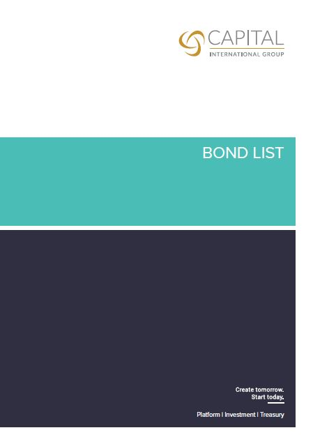 Bond List March 2021