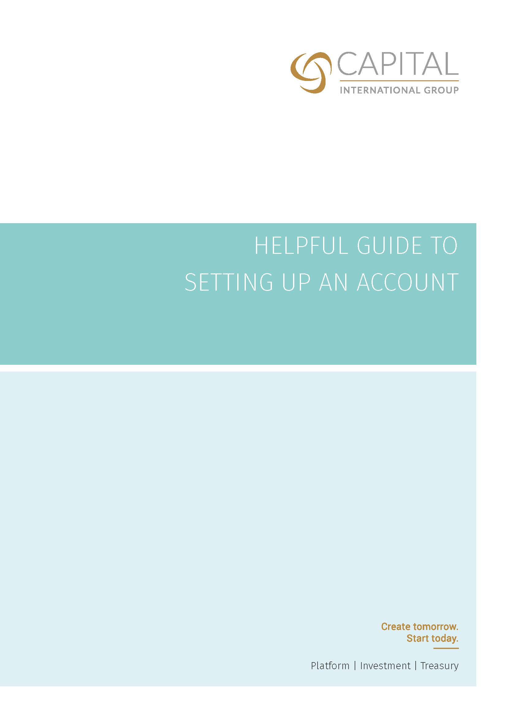 Helpful Guide to Setting Up an Account (IOM)