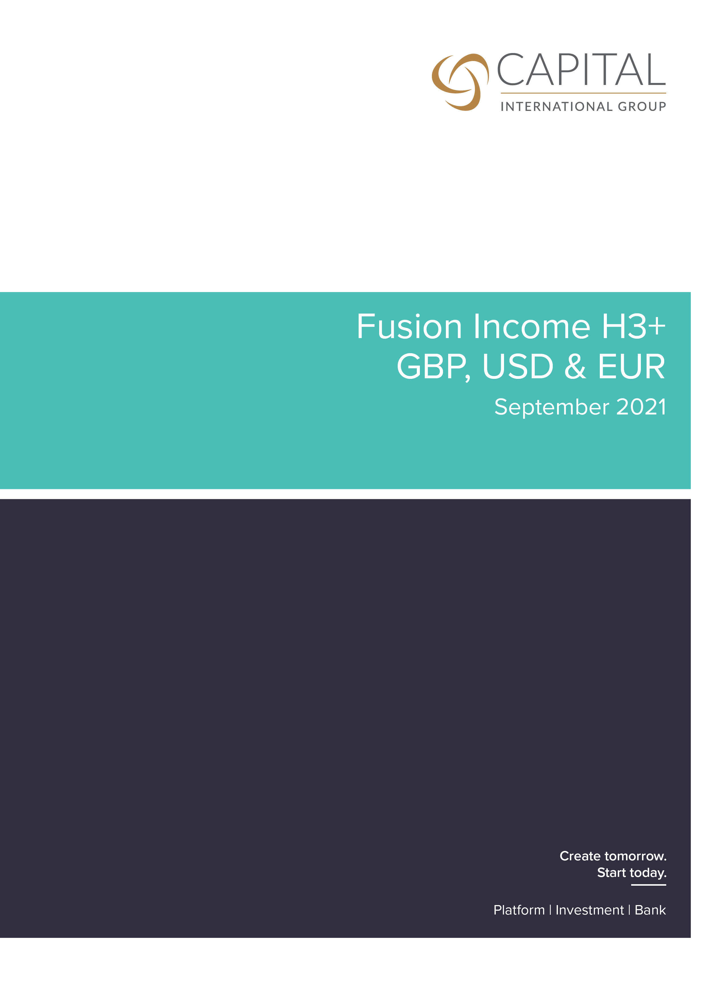 Fusion Income H3+ September 2021