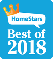 You Move Me won HomeStars Best of 2018 award