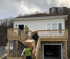 safely transporting boxes during a moving project in allentown