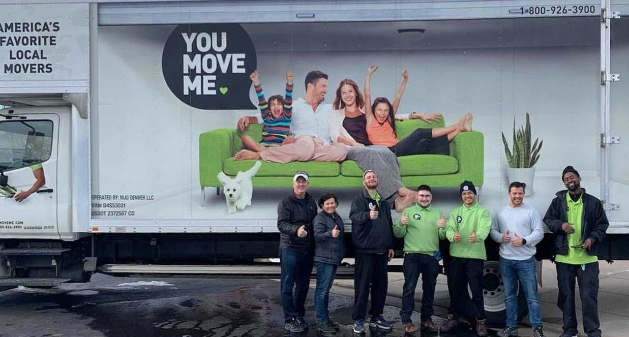 You Move Me Denver team