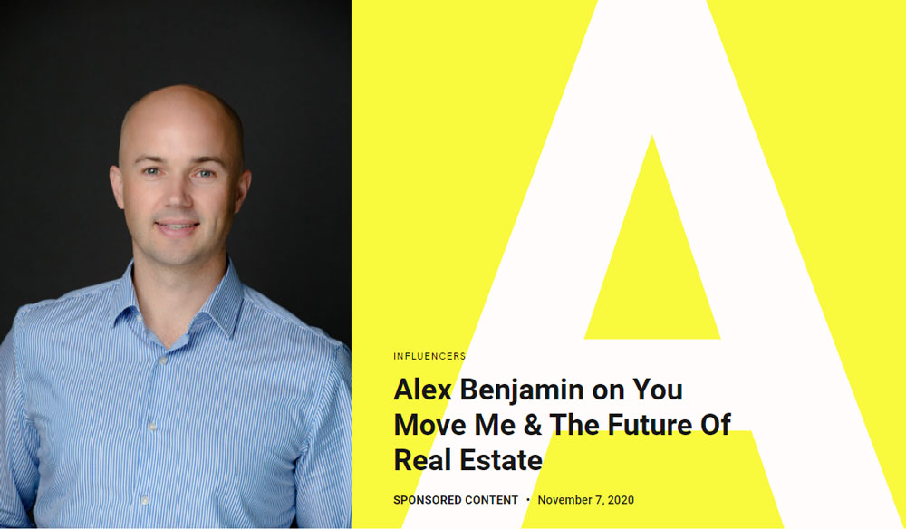 Alex Benjamin on You Move Me & The Future of Real Estate