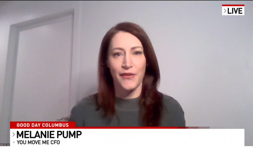Melanie Pump on Fox Morning