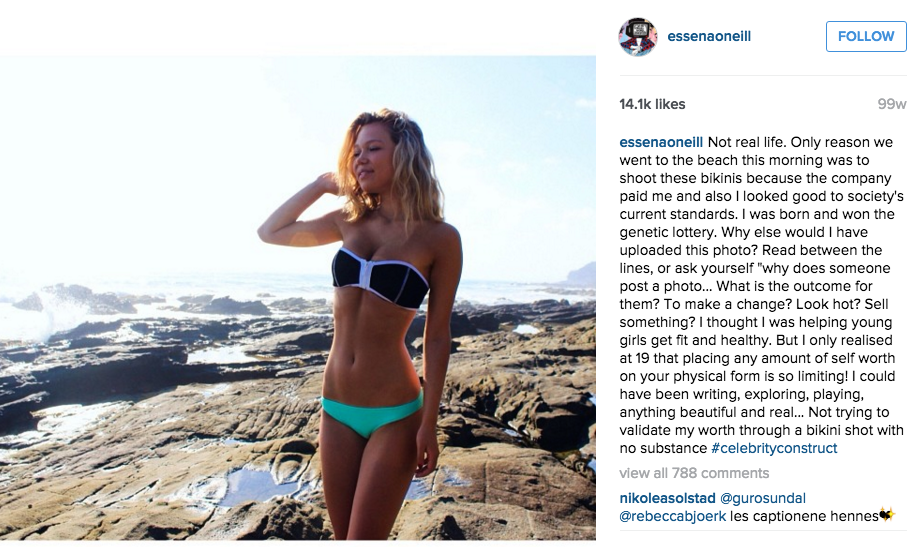 Essena Oneill: Paid Influencer Marketing on Instagram