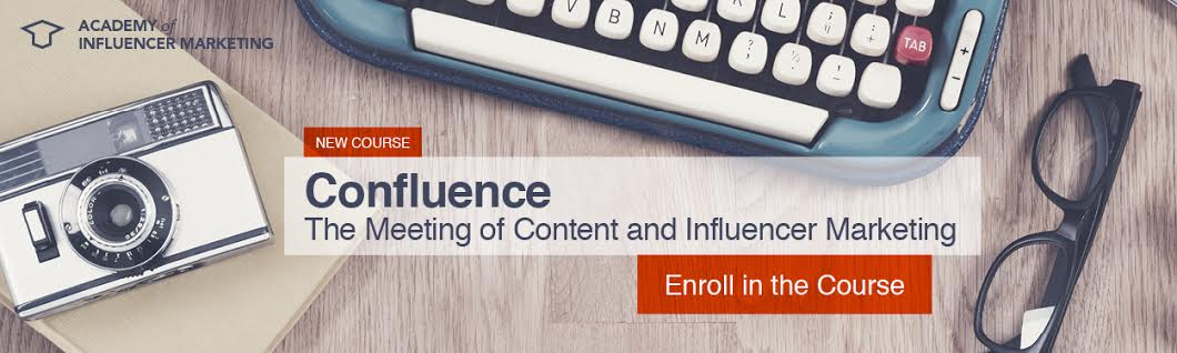 Confluence: The meeting of Content and Influencer marketing