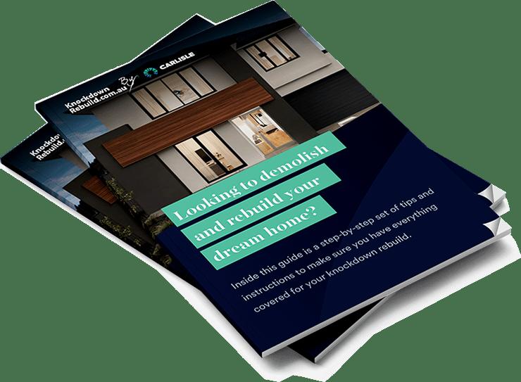 Knockdown rebuild brochure