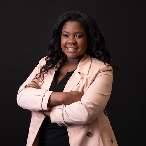 Headshot of Ebonie Gibbs, Director of Events