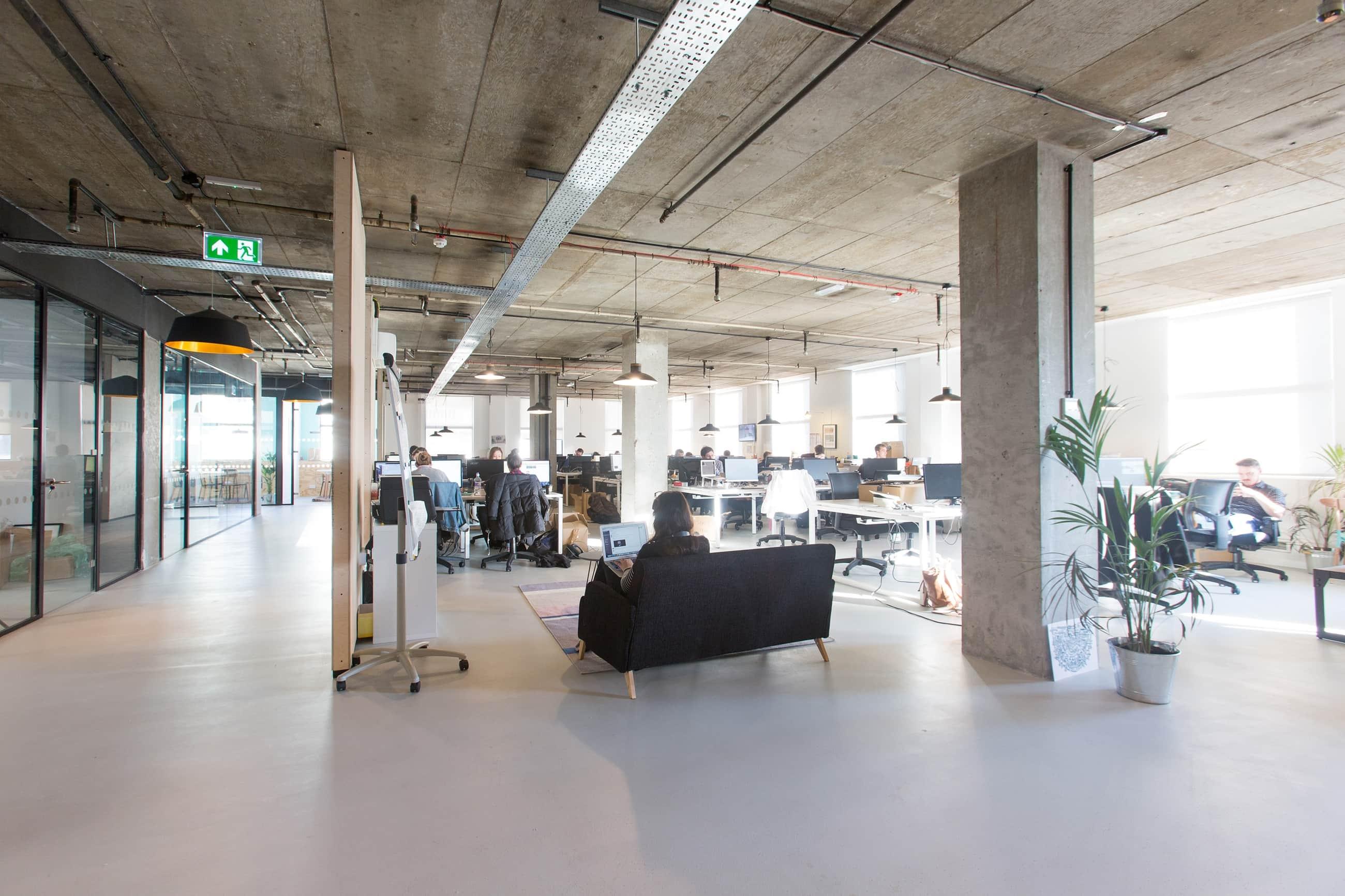 78 person workspace