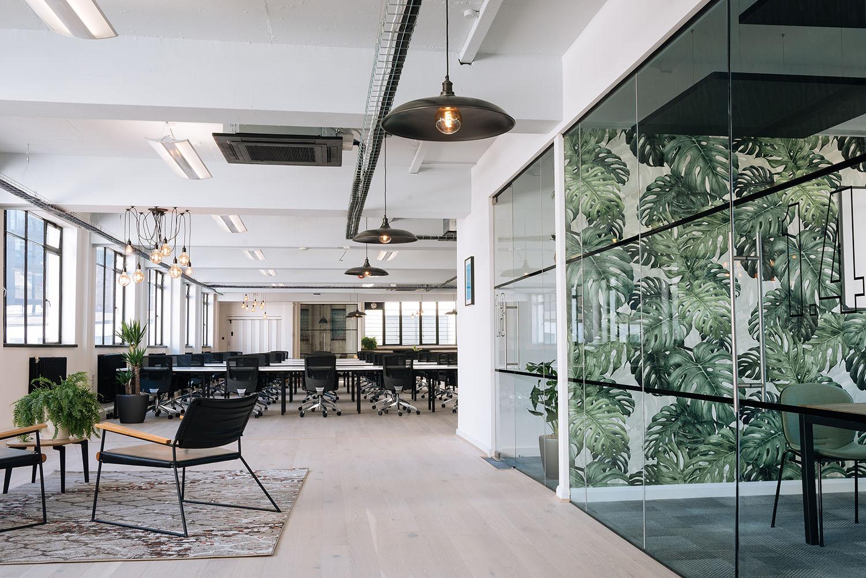 82 person workspace