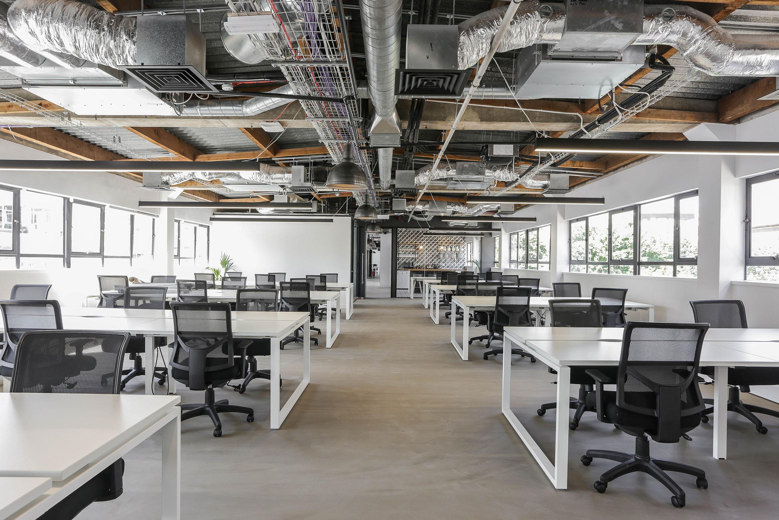 Shoreditch Enterprise 100 person workspace
