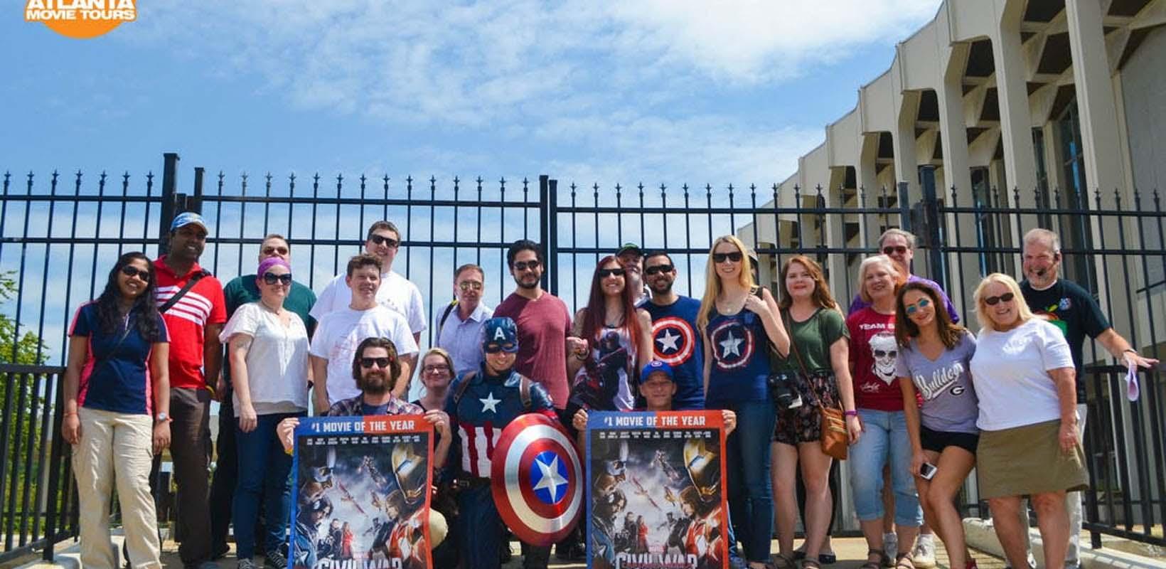 Superhero Movie Location Tour