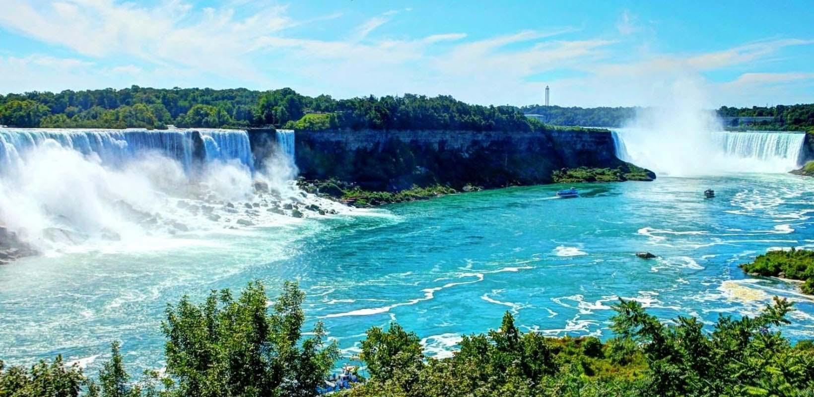Niagara Falls sightseeing tour with wine sampling