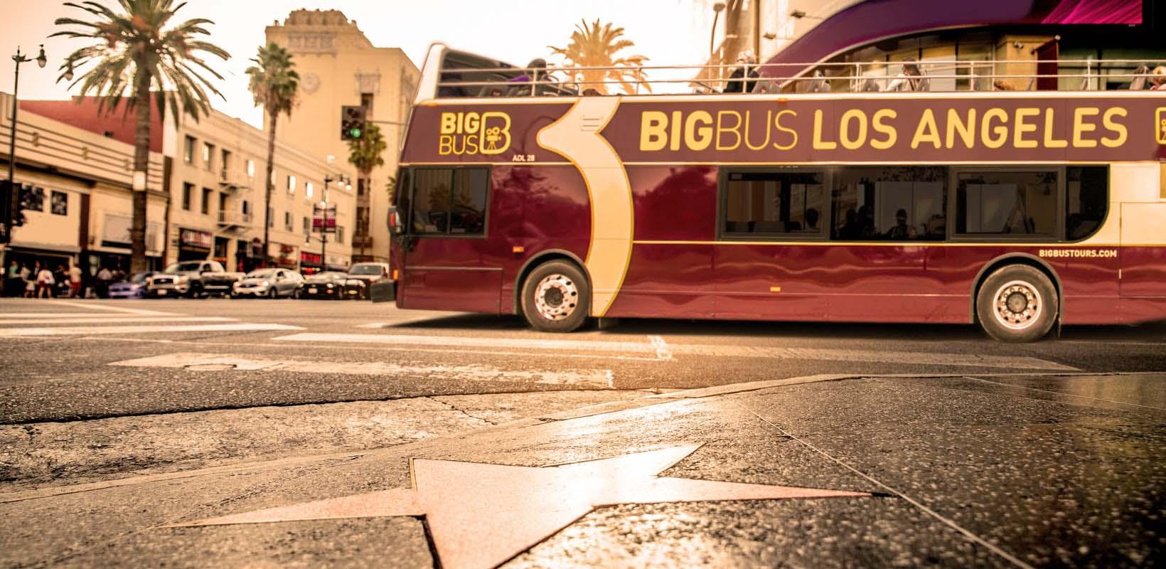 Hop-on hop-off Big Bus Los Angeles tickets