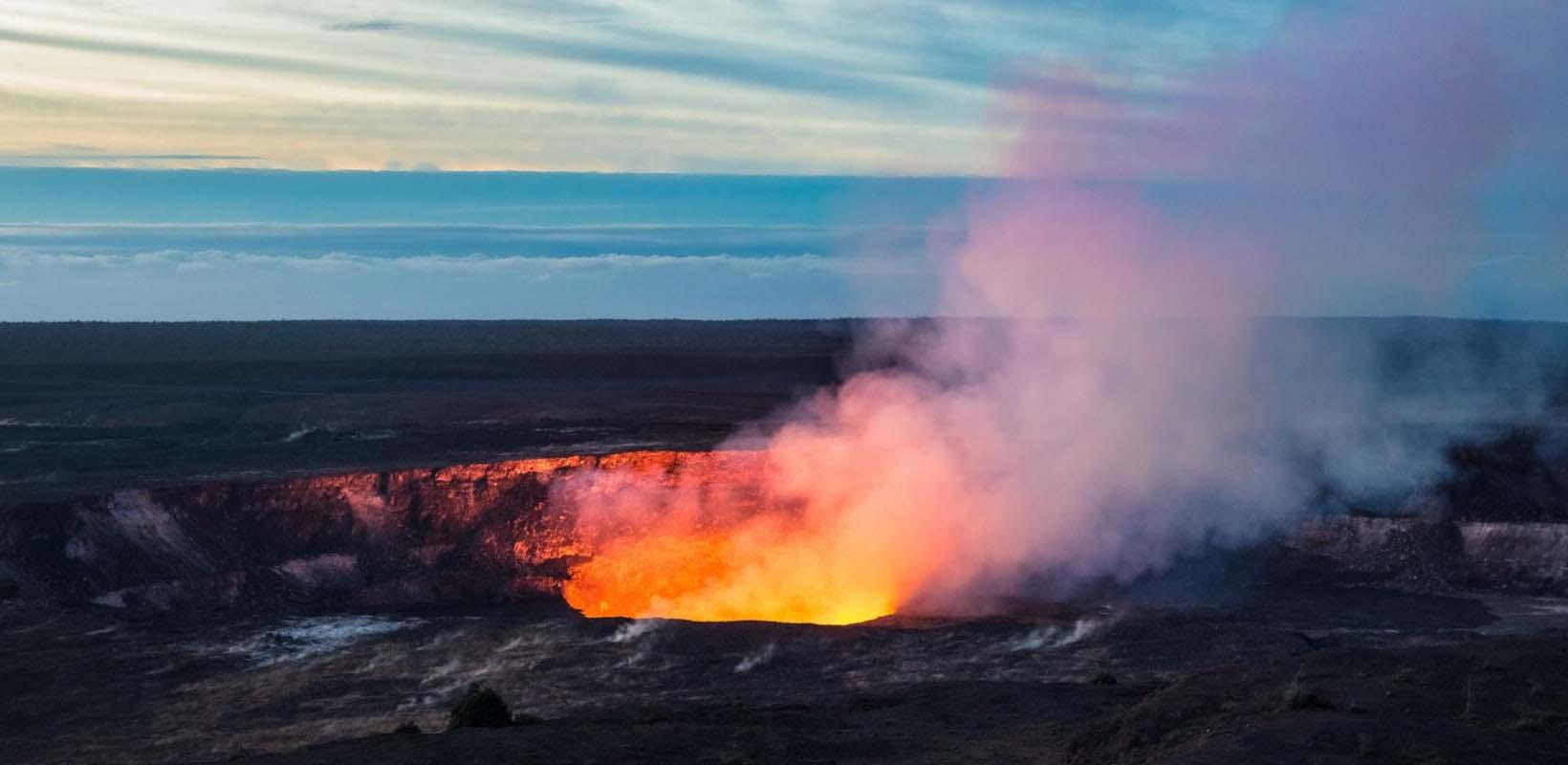 Hawaii Big Island volcano adventure