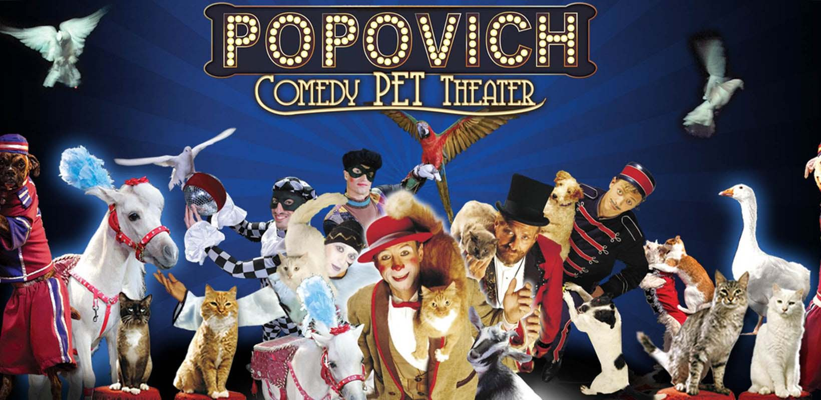 Tickets to Popovich Comedy Pet Theater
