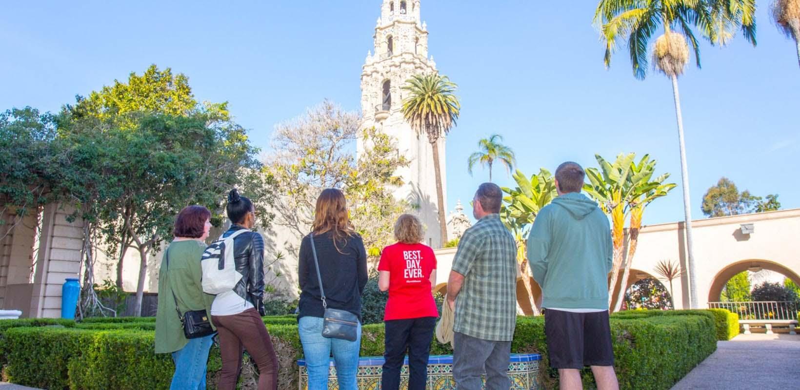 Secret Spots and History of Balboa Park Tour