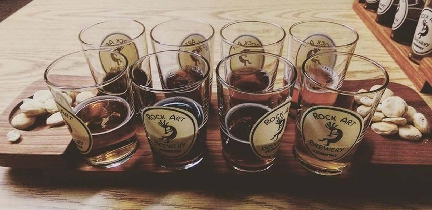 Vermont brewery tour from Stowe