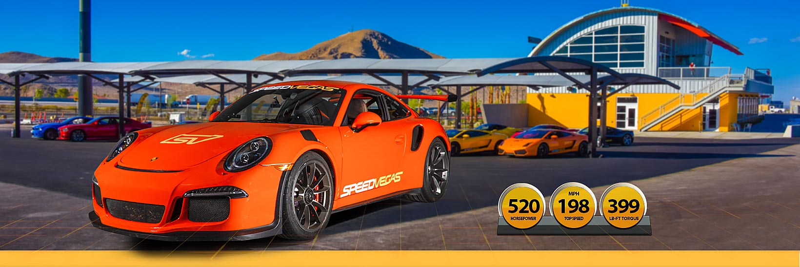 Porsche 911 GT3 RS Experience in Las Vegas