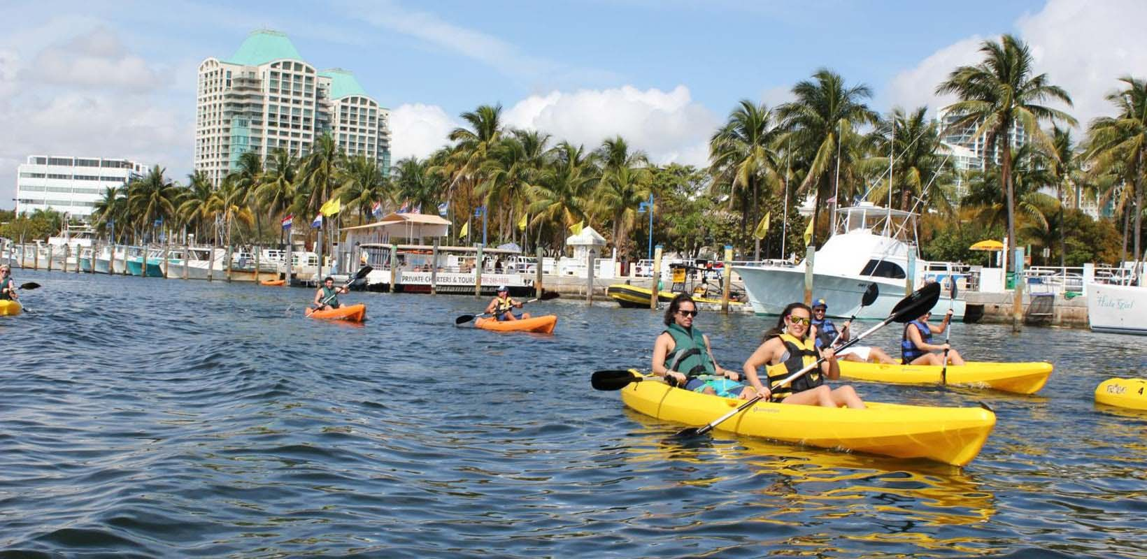 1 Hour Single or Tandem Kayak Rental | Biscayne Bay