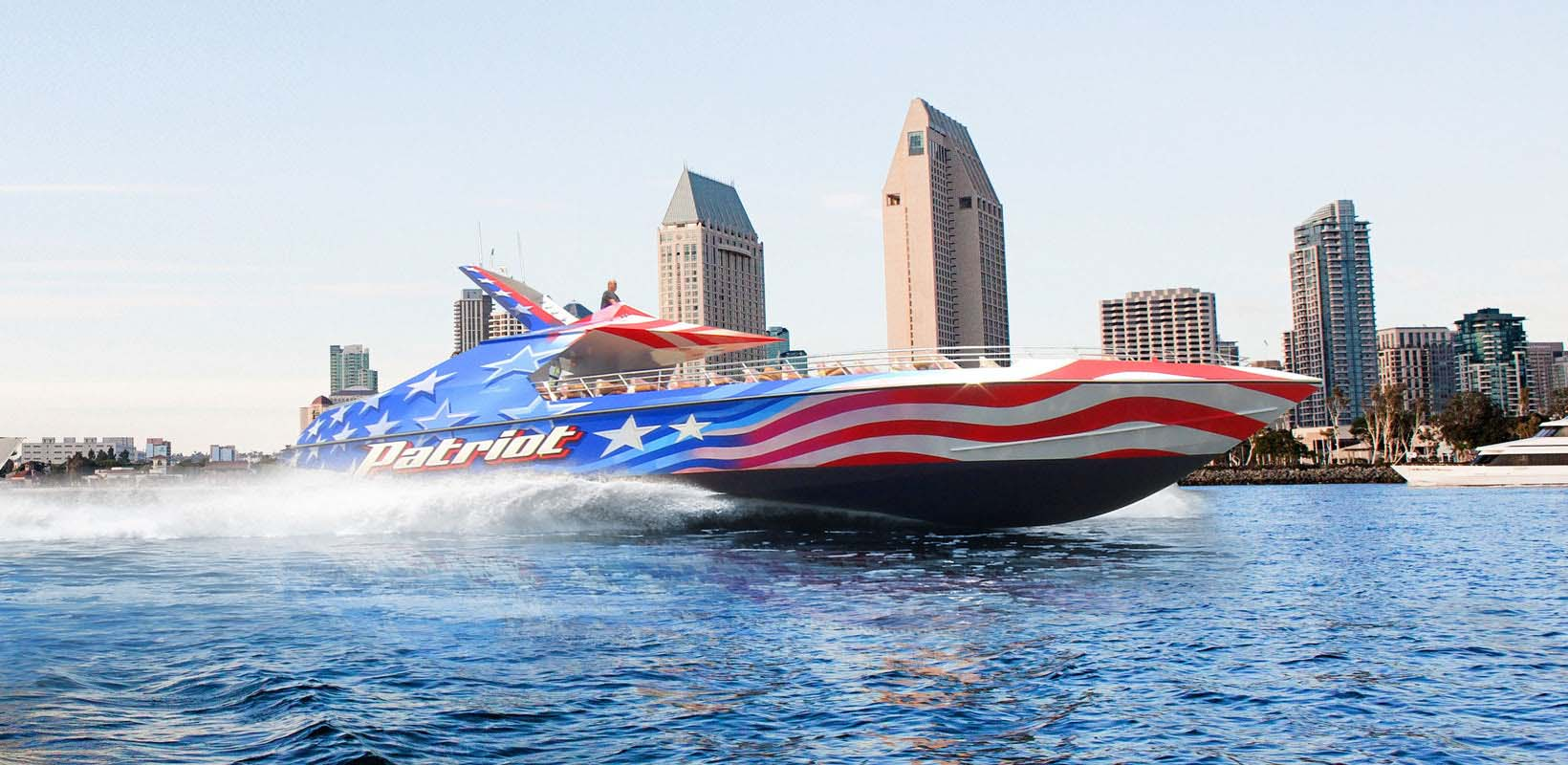 San Diego Patriot Jet Boat Thrill Ride