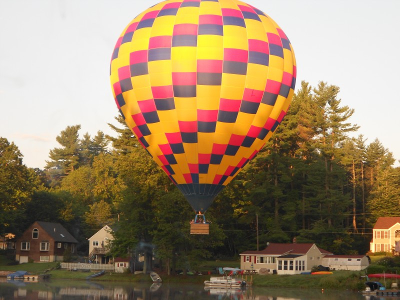 Hot Air Balloon New Hampshire