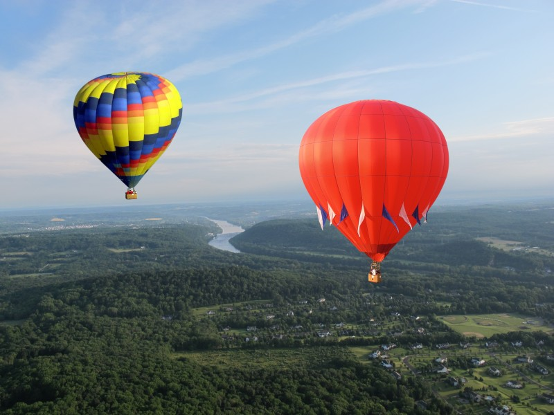 Hot Air Balloon Ride Chester County PA