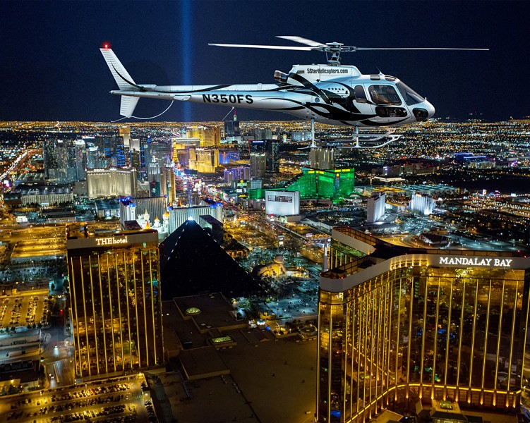 Las Vegas Helicopter Night Flight