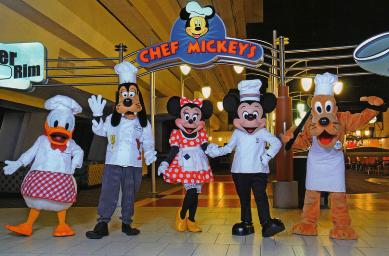 Limousine Character Breakfast at Chef Mickey's - Adult