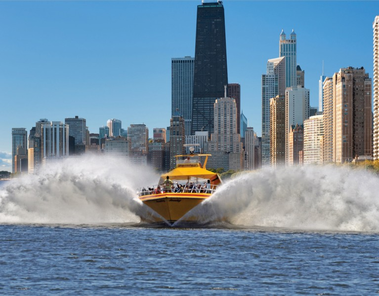Speed Boat Tour Chicago