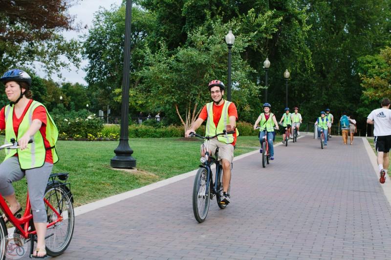 Bike tour DC Monuments