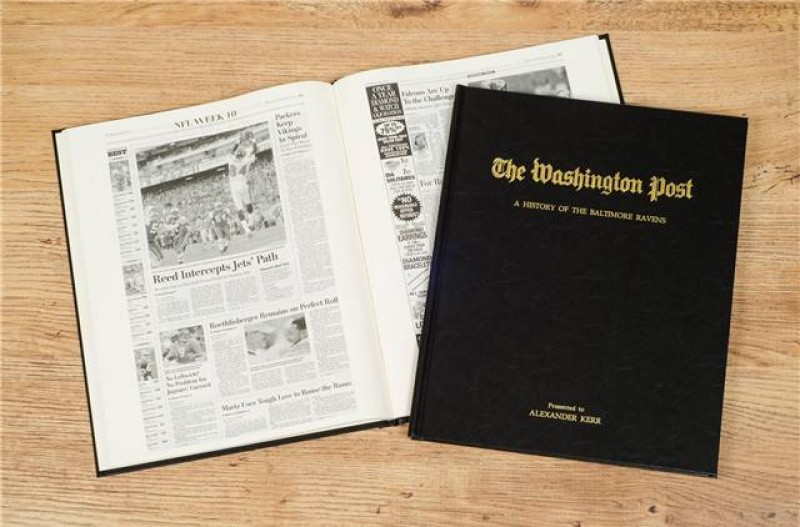 Personalized Newspaper Gift - Football