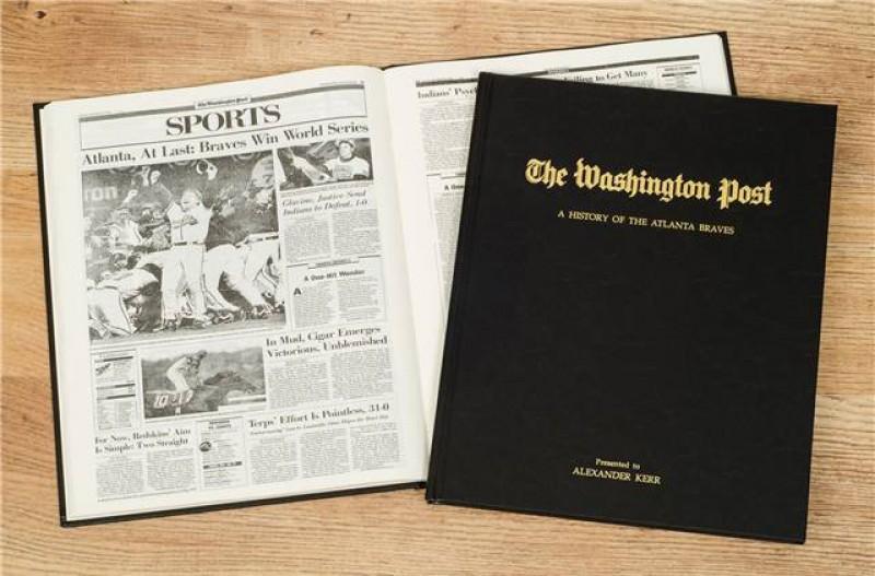Personalized Newspaper Gift - Baseball