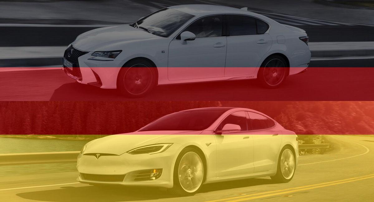 La vignette Crit'Air pour les véhicules allemands