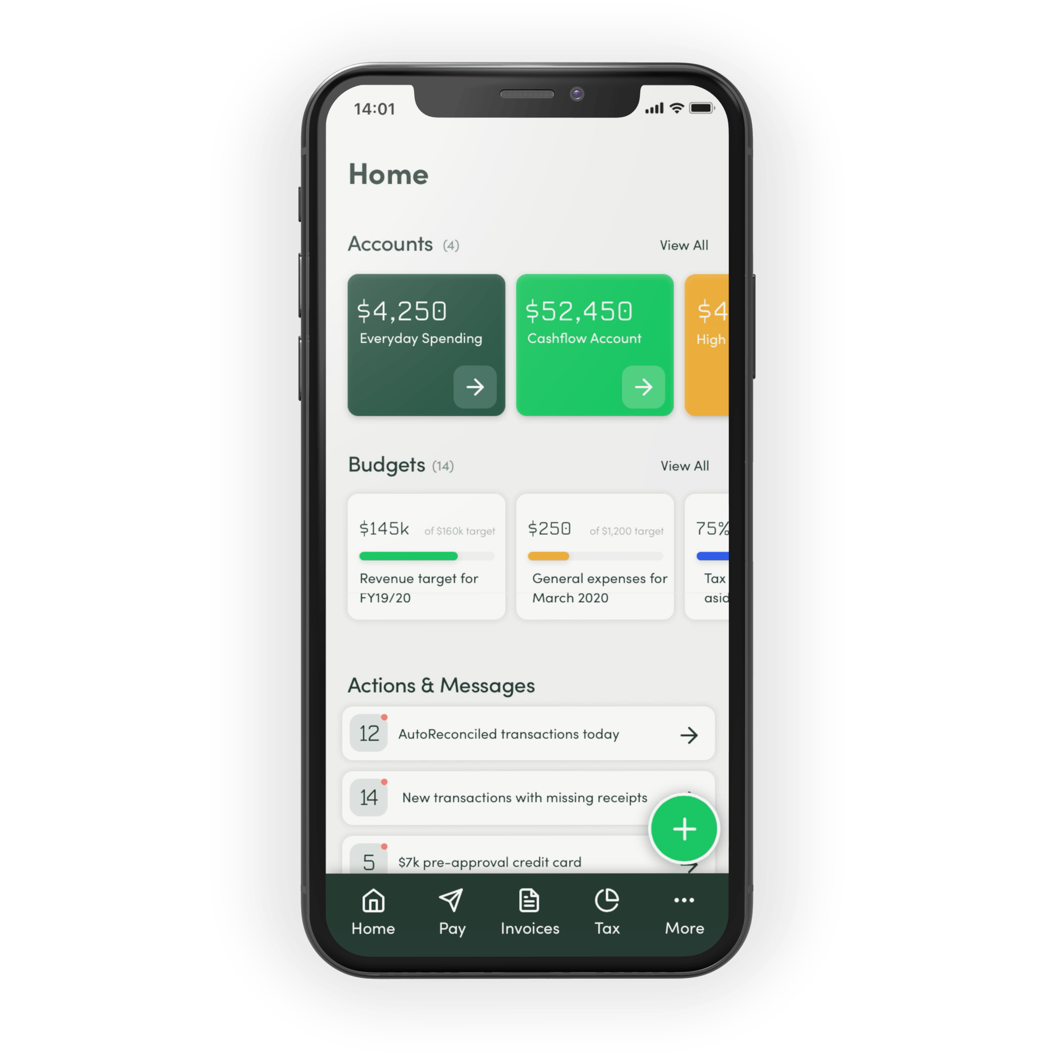 Thrive banking and accounting platform for small businesses