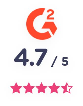 G2 scoring 4.7 landbot