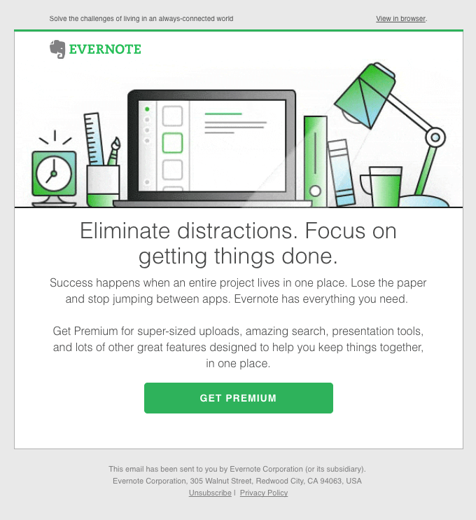 automation is an absolute must-have - evernote email