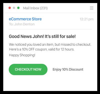 Sendlane Retargeting Email - Ecommerce Business