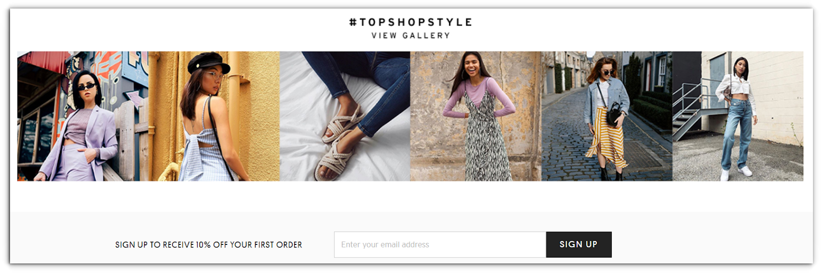 Top Shop - Ecommerce Business - Sendlane